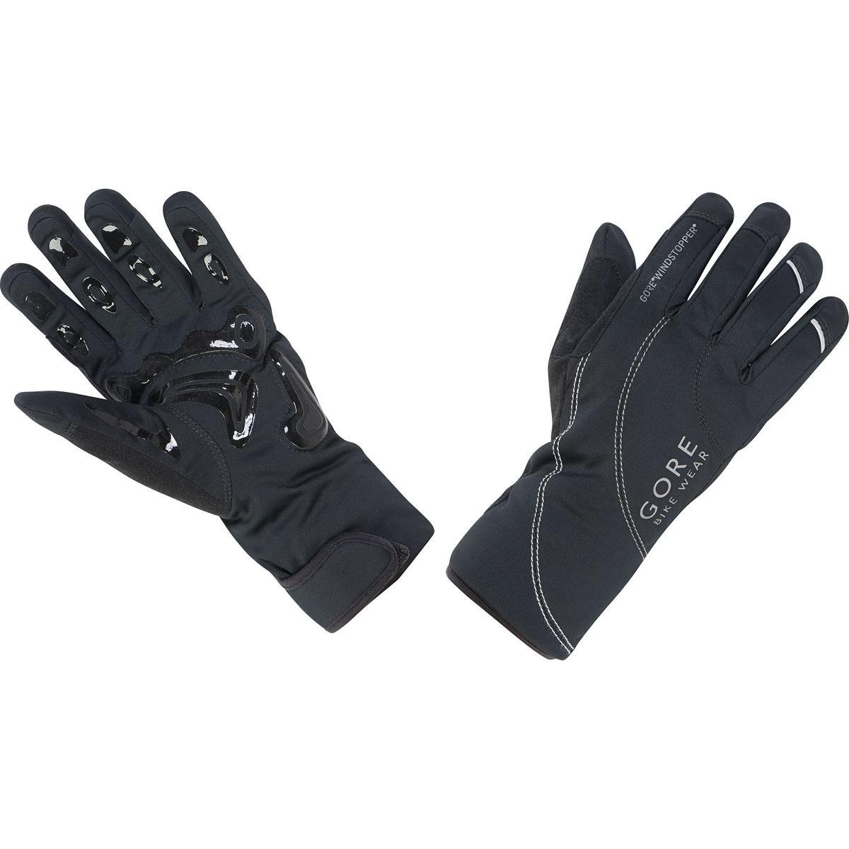 Gore Bike Wear Women's MTB Windstopper Thermo Lady Gloves, Black, Small GWMTBL-P