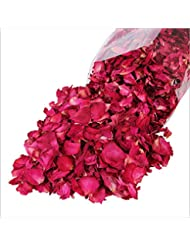 Artlalic 100g Dried Rose Petals Bath Tools Natural Dry Flower Petal Spa Whitening Shower
