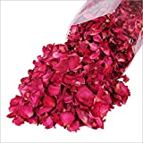 Artlalic 100g Dried Rose Petals Bath Tools Natural Dry Flower Petal Spa Whitening Shower