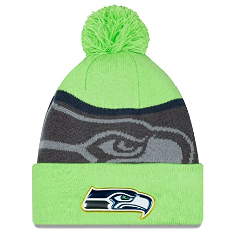 237da7124e6b4 Amazon.com   Seattle Seahawks New Era Gold Collection Team Color ...