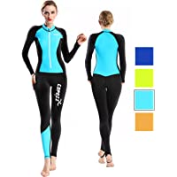 COPOZZ Diving Skin, Men Women Youth Thin Wetsuit Rash Guard- Full Body UV Protection - for Diving Snorkeling Surfing…