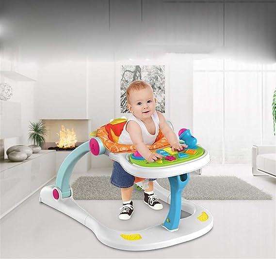 BABIFIS - Caminata para bebé, 4 en 1, multifunción, antiruedas ...