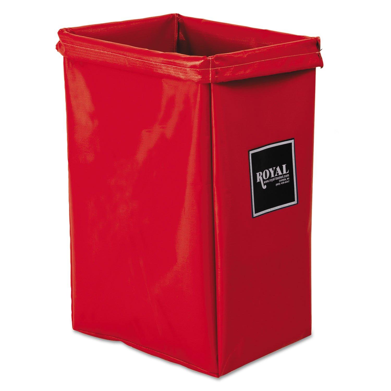Hamper Bag, 30 gal, Red Vinyl