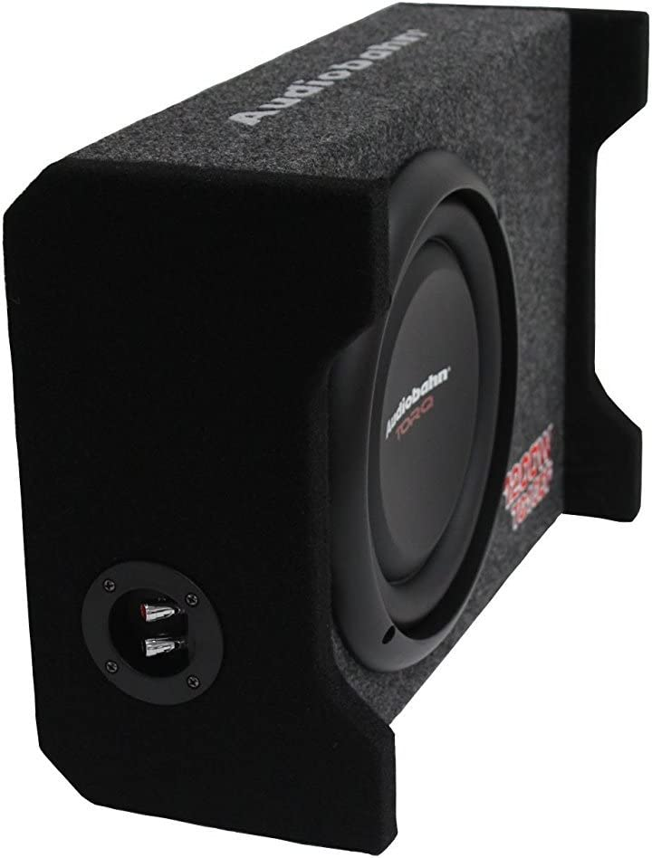 """Audiobahn 12/"""" 1500W Car Shallow Slim Loaded Boom Bass Subwoofer extreme Box"""
