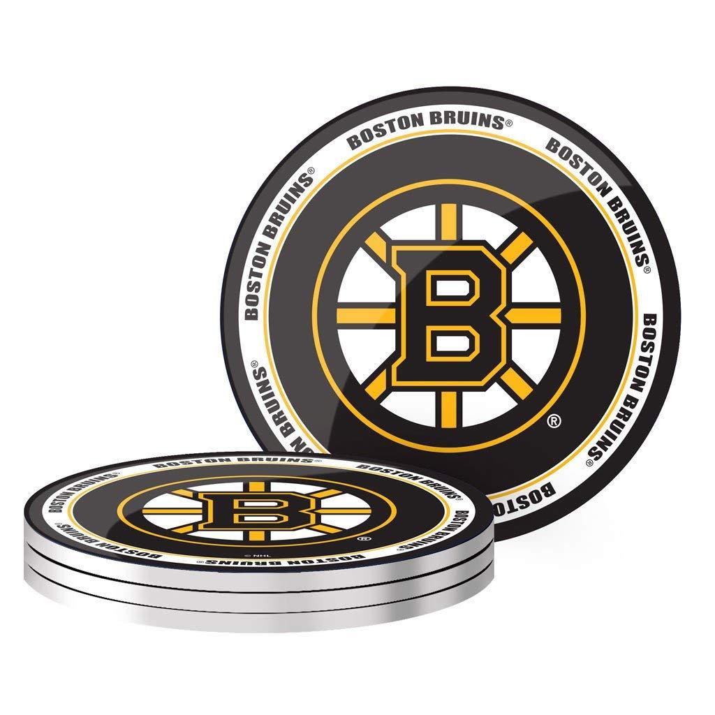 ボストンブルーインズ コースター NHLホッケー 4枚セット   B07PJXDH2J