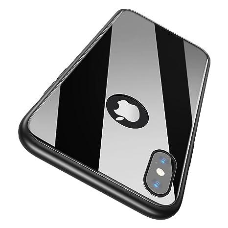 iphone x coque verre trempé