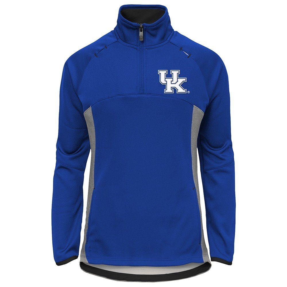Outerstuff Kentucky Wildcats NCAA Extreme Team Logo 1/4 Zip Pullover Jacket Girls Youth by Outerstuff