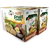 Brothers-ALL-Natural Fruit Crisps, Fuji Apple and Cinnamon, 0.35 Ounce (12 count, Pack of 2)