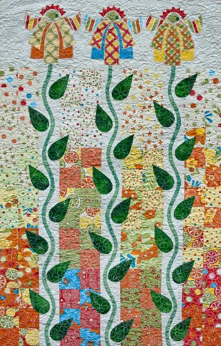 (Wild Flowers (Oh Sew Charming!) Quilt Pattern By Mickey Depre)