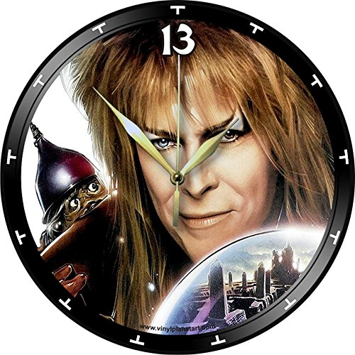 DAVID BOWIE Labyrinth vinyl record wall clock upcycled from an old 12