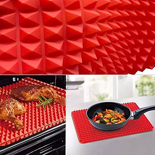 Non Stick Silicone Baking Mat Heat Resistant Fat Reducing Liner TopChoice-Products