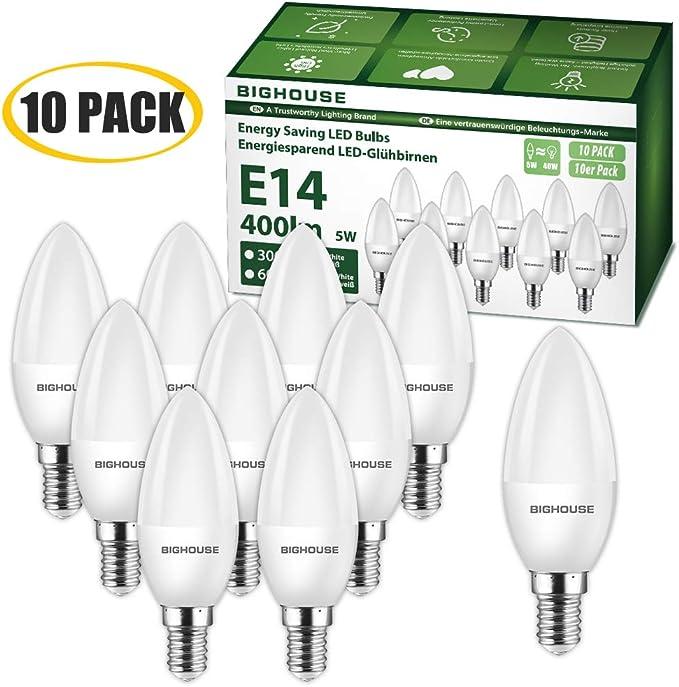 Bombillas LED E14 de 4 W: Amazon.es: Iluminación