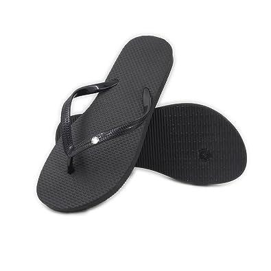 Unisex Non-slip Flip Flops A Little Angel Cool Beach Slippers Sandal