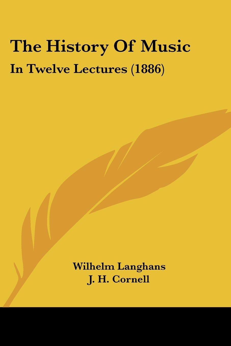 Download The History Of Music: In Twelve Lectures (1886) PDF