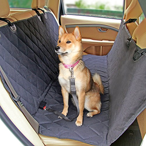 Milemont Dog Seat Cover for Back Seat - Hammock Car Seat Covers for Dogs - Pet Car Seat Protector...