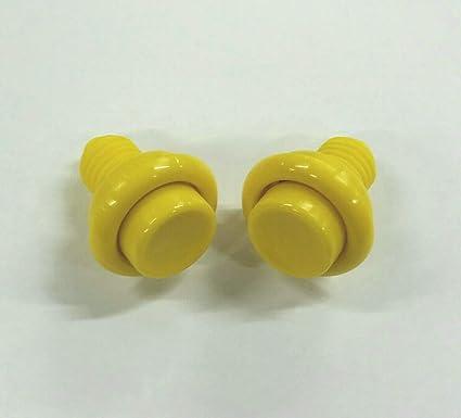 Buy Bally Williams Pinball Opaque Yellow Flipper Button Set