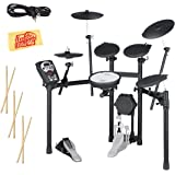Roland TD-11K Electronic Drum Set Bundle with 3 Pairs of Sticks, Audio Cable, and Austin Bazaar Polishing Cloth