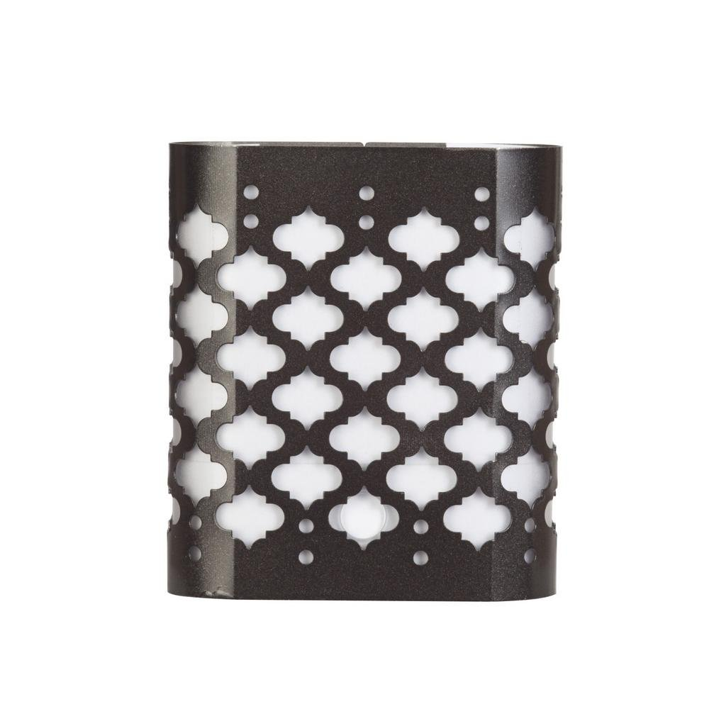 Automatic LED Decorative Steel Oil Rubbed Bronze Night Light
