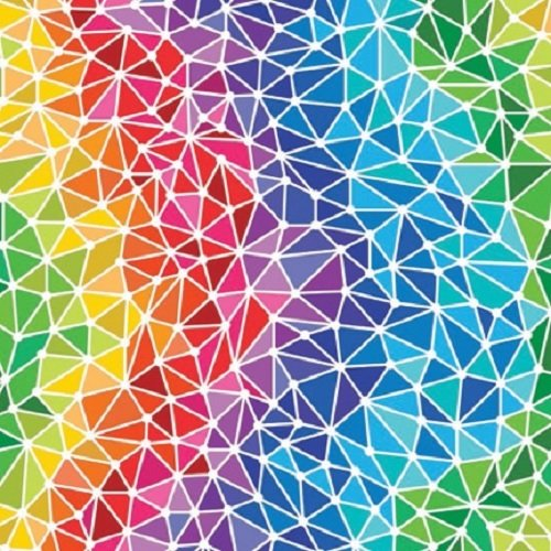 Amazon Origami Paper Rainbow Patterns 40 Size 940 Sheets Custom Rainbow Pattern