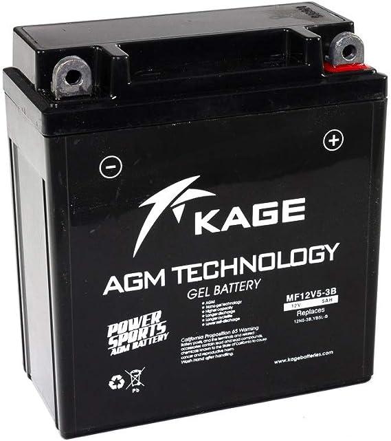Battery Gel Kage Yb5l B 12n5 3b Auto