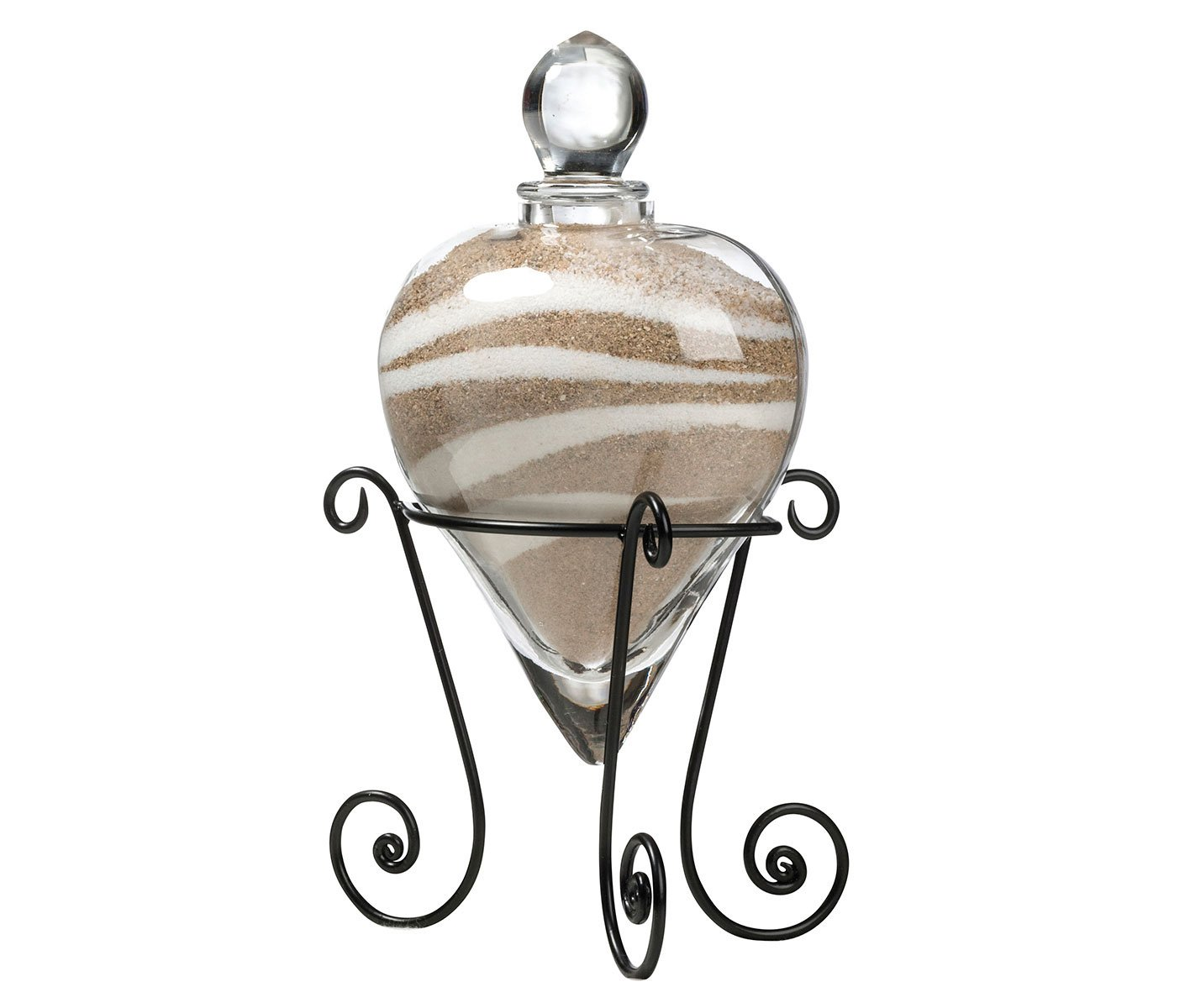 Lillian Rose Heart Unity Sand Vase w/Stand by Lillian Rose
