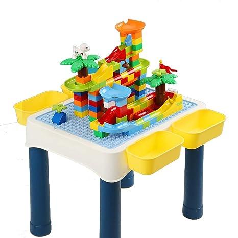AFCITY-toy Mesa Construye y Aprende, Bloques de construcción for ...