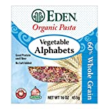 Eden Organic Vegetable Alphabets, 16-Ounce Packages (Pack of 6)