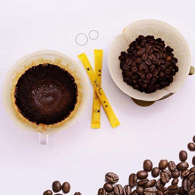 TOPSALE 100Pcs Filtro de Cafe de No.6