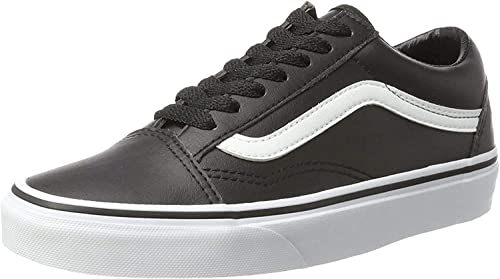 Vans Adults' Old Skool Leather Trainers