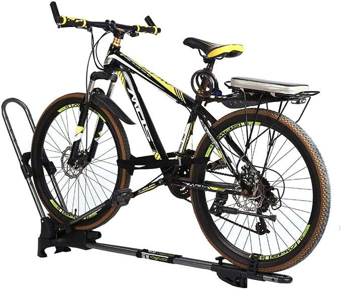LYzpf Portabicicletas Techo Bicicleta Coche Almacenamiento Multifuncional Transporte Portátil Exterior: Amazon.es: Deportes y aire libre