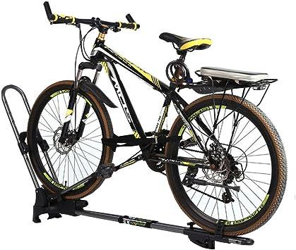 LYzpf Portabicicletas Techo Bicicleta Coche Almacenamiento ...