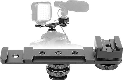 ChromLives - Adaptador de zapata caliente para cámara con trípode ...