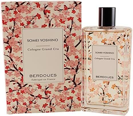 Berdoues Somei Yoshino Cologne Grand Cru for Women, 3.68 Fluid Ounce