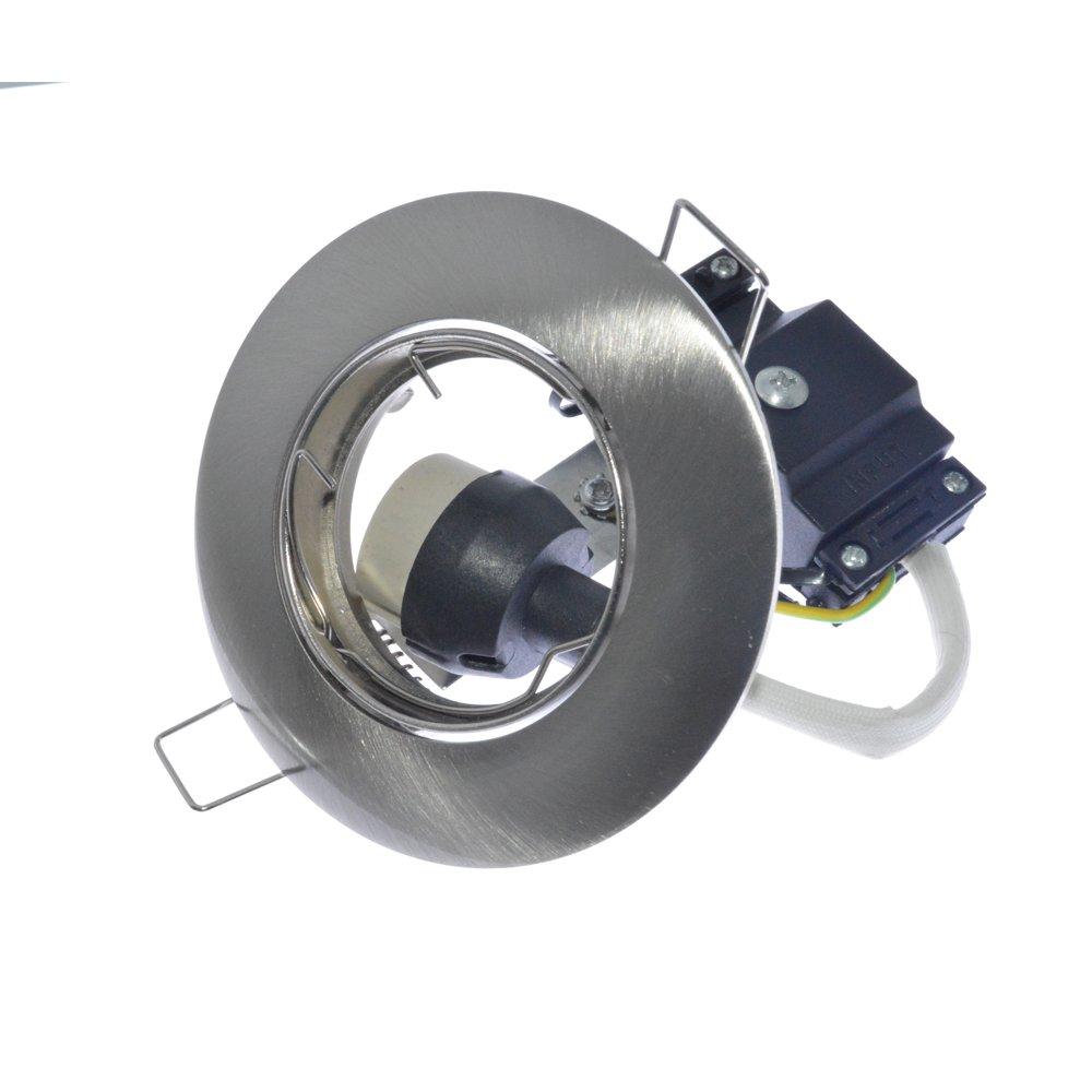4 Pack Gu10 Spotlight Fitting Frame for LED Ceiling Spots Wankai