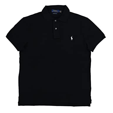 ff8deac8a14 Polo Ralph Lauren Mens Custom Slim Fit Stretch Polo Shirt at Amazon Men s  Clothing store
