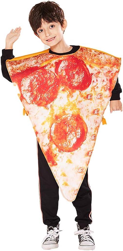 ReneeCho Kid's Pizza Slice Halloween Costume, One Size
