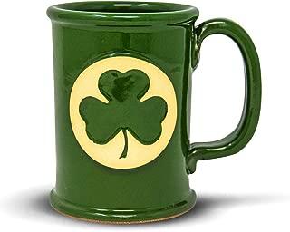 product image for Handmade Stoneware Coffee Mug Shamrock Shenanigans