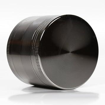 lautechco® Metal molinillo de hierbas molinillo de aleación de aluminio 4 Detector de humo roto
