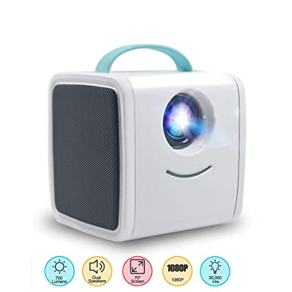 Amazon.com: JSX Kids Video Projector Mini 3D HD Projector ...