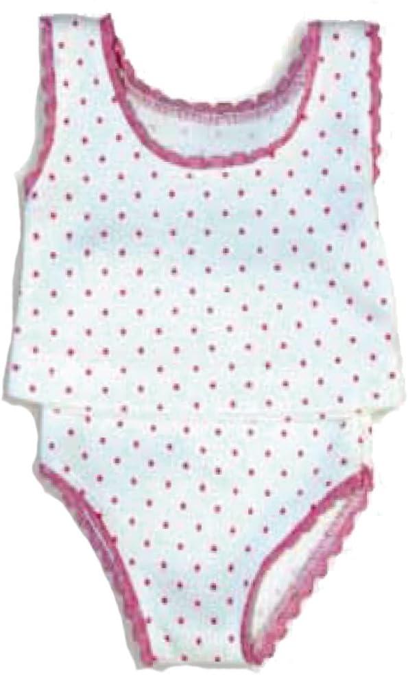 Petitcollin/ /Petitcollin502802/sous-v/êtements Pink Dots pour poup/ée