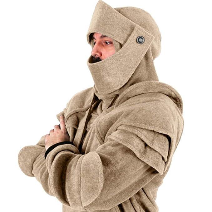Gran promoción!Rovinci Abrigos para Hombre Soldado Máscara ...