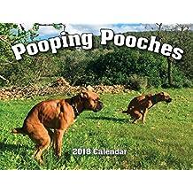 2018 Pooping Pooches White Elephant Gag Gift Calendar