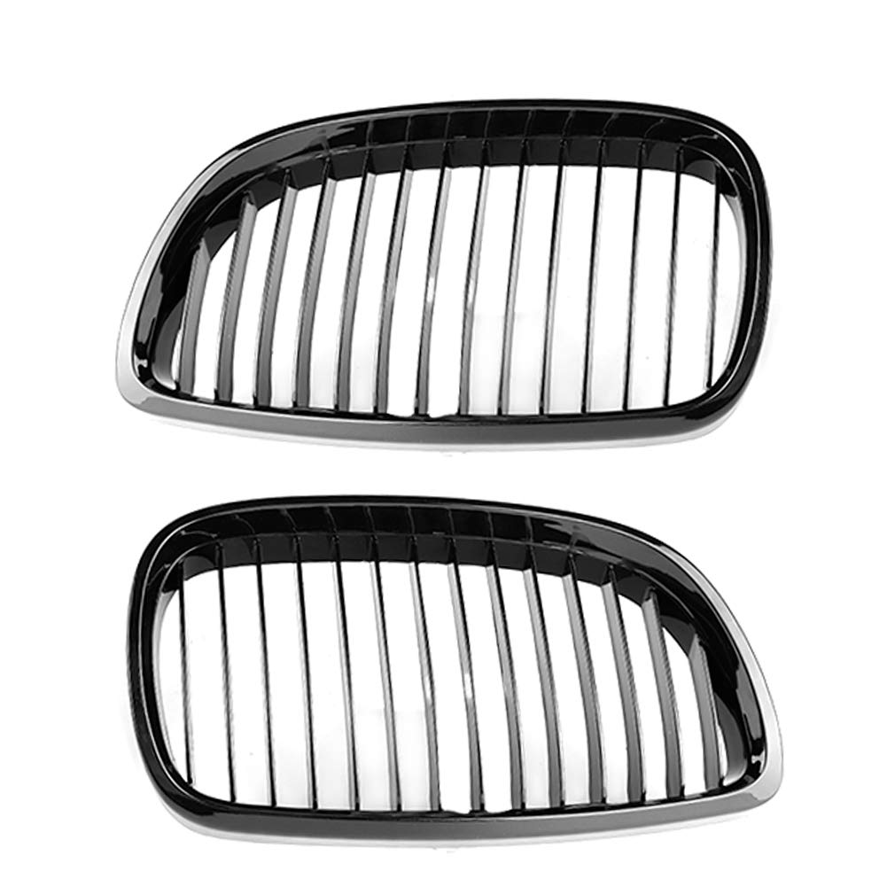 Front Grille, Car Front Hood Kidney Sport Grille Single Line Grill Fit for 3-Series E92 E93 2010-2013 by Dweekiy