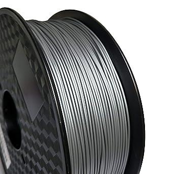 Filamento de relleno de metal plateado para impresora 3D ...