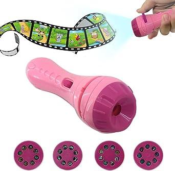 Samber Linternas Infantiles Proyector de Linternas de Juguetes ...