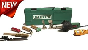 Leister pistola de aire caliente Triac St para tejados Kit - 230 V ...
