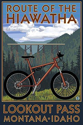 Route of the Hiawatha St. Regis, Montana - Mountain Bike Sce