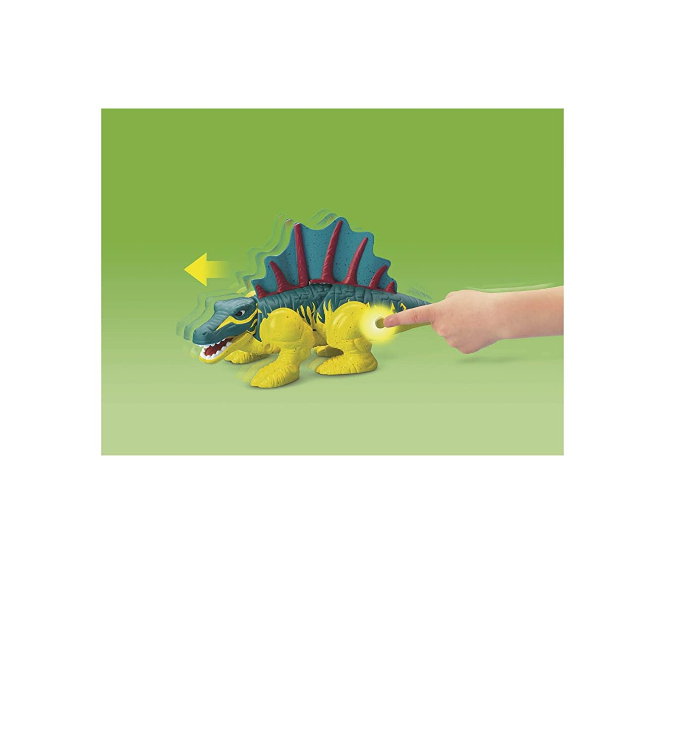 Fisher-Price imaginext dornrand der Dimetrodon