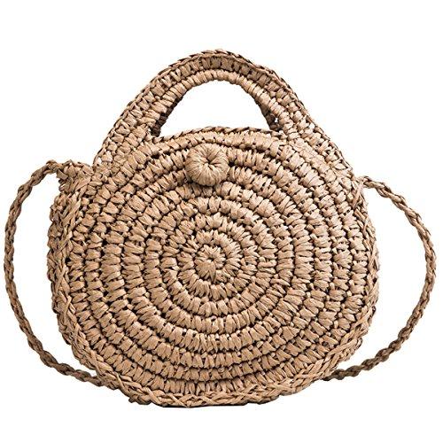 Tick Tocking, Sac pour femme à porter à l'épaule Beige 22*20cm beige 22*20cm Coffee 22*20cm