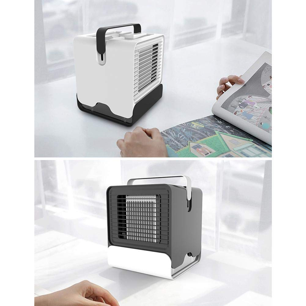 Melo-bell Car Air Conditioner Fan Negative Ion Portable USB Cooling Fan Office Dormitory Household Small Space Air Cooler